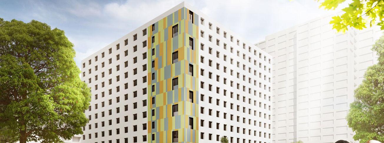Apartments mieten in Berlin, Unterkunft Arbeiter, Studenten Berlin, Einzelapartments, Doppelapartments